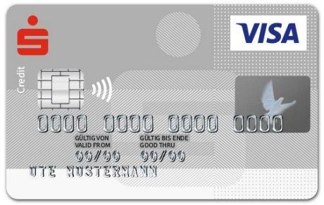 Sparkasse Karte.Visacard Komfort